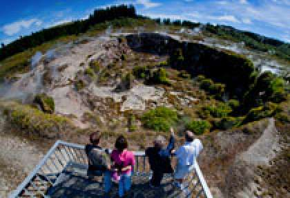 Lake Taupo Crater of the Moon