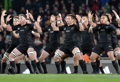 Haka Kapa o Pango par les All Blacks